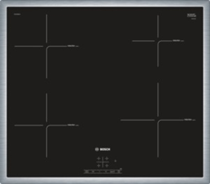 Attēls no BOSCH indukcijas plīts virsma, Frame dizains, 60 cm