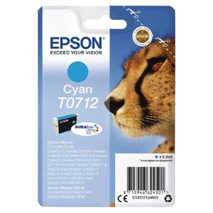 Attēls no Epson T0712 Cyan
