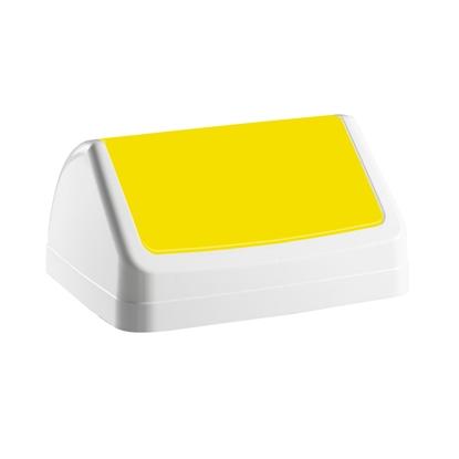 Attēls no FILMOP Vāks atkritumu tvertnei PATTY, dzeltenā krāsā