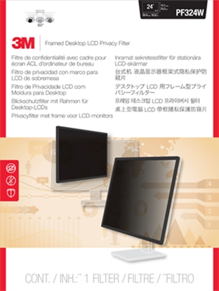 "Picture of 3M 98044049124 display privacy filters Framed display privacy filter 61 cm (24"")"