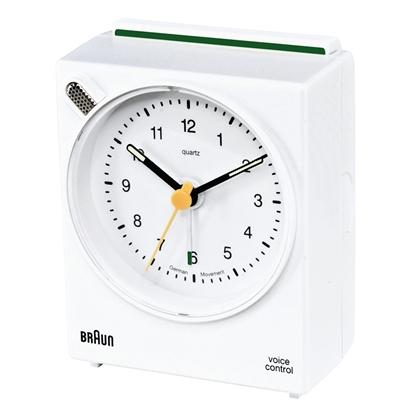Изображение Braun BNC 004 white Voice Activated Alarm Clock