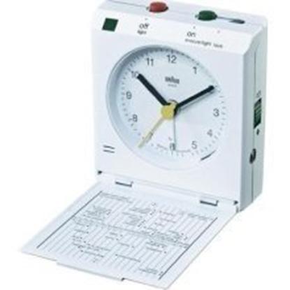 Изображение Braun BNC 005  white Reflex Control Travel Alarm Clock