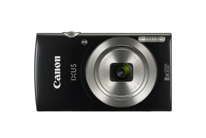 "Attēls no Canon IXUS 185 Compact camera, 20 MP, Optical zoom 8 x, Digital zoom 4 x, Image stabilizer, ISO 800, Display diagonal 2.7 "", Focus TTL, Video recording, Lithium-Ion (Li-Ion), Black"