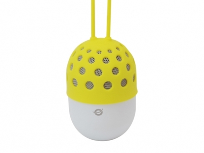 Attēls no Conceptronic Wireless waterproof Bluetooth LED Speaker yellow