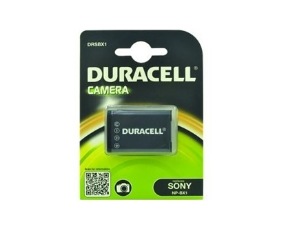 Attēls no Duracell Li-Ion Akku 1090 mAh for Sony NP-BX1