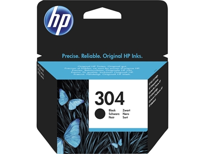 Attēls no HP 304 Black Original Ink Cartridge (120 pages)