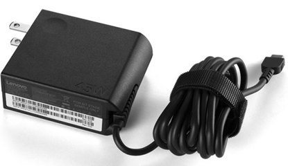 Attēls no Lenovo AC adapter 4X20E75135 Power supply, USB 3.0 Type-C, Compatible with Lenovo ThinkPad 11e Chromebook; Thinkpad 13; 13 Chromebook; ThinkPad L470; T470; T570; X1 Carbon; X1 Tablet; X1 Yoga; X270; X570, 45 W