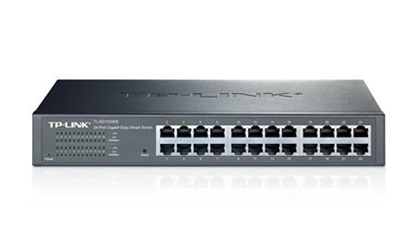 Изображение TP-LINK TL-SG1024DE network switch Managed L2 Gigabit Ethernet (10/100/1000) Black