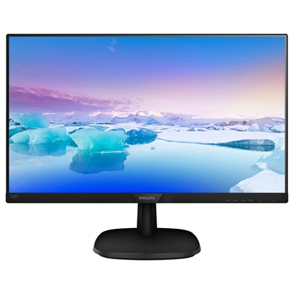 "Attēls no Philips 223V7QHAB/00 21.5 "", IPS, FHD, 1920 x 1080 pixels, 16:9, 5 ms, 250 cd/m², Black"