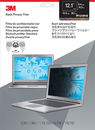 "Picture of 3M 12.1"" Widescreen Laptop Privacy Filter"