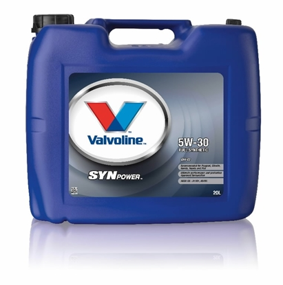 Picture of VALVOLINE Motoreļļa SYNPOWER ENV C2 5W30 20L,