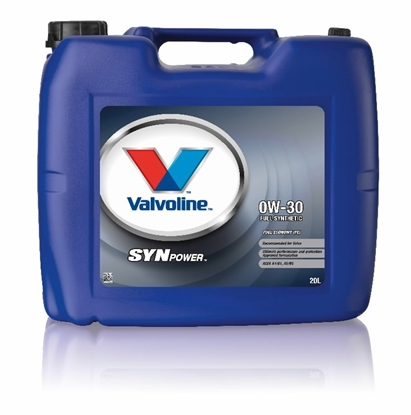 Picture of VALVOLINE Motoreļļa SynPower FE 0W30 20L,