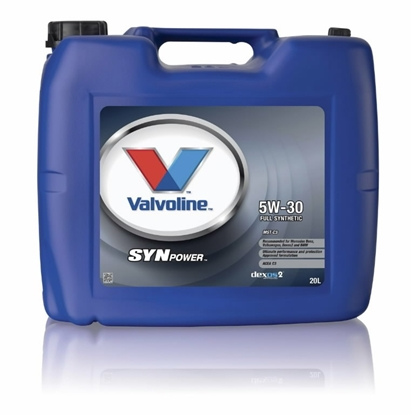 Изображение VALVOLINE Motoreļļa SYNPOWER MST C3 5W30 20L,