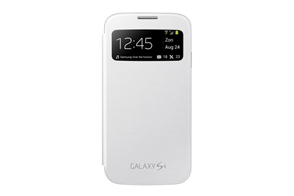 Attēls no SAMSUNG Gal S IV S-View Cover White
