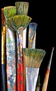 Изображение для категории Кисти и краски