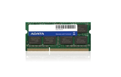 Attēls no NB MEMORY 1GB PC10666 DDR3/CL9 AD3S1333B1G9-B A-DATA SODIM 1333 MHz
