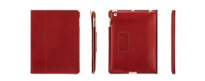 Picture of GRIFFIN Elan Folio Slim for iPad 2 amp; 3 (Red) / Extra-slim, one-piece folio