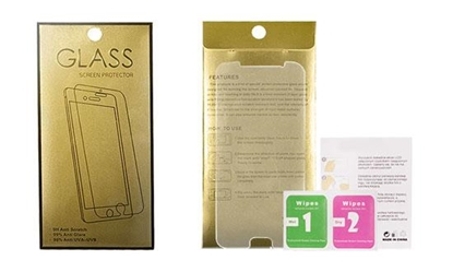 Picture of Tempered Glass Gold Mobile Phone Screen Protector HTC Desire 830