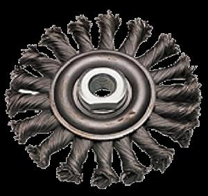 Изображение для категории Стальные щётки для угловых шлифовальных машины