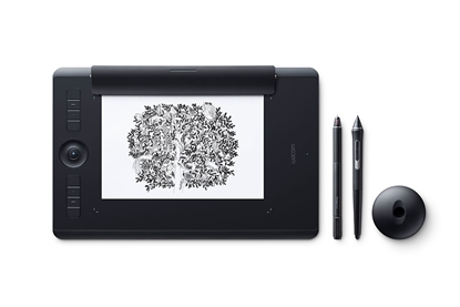 Picture of Wacom Intuos Pro Paper 5080lpi 224 x 148mm USB/Bluetooth Black graphic tablet