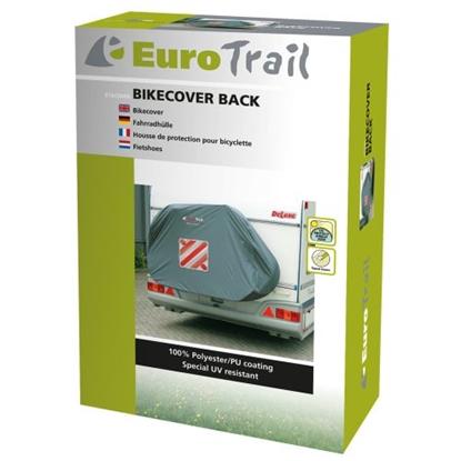 Attēls no EUROTRAIL Bikecover Back 2 / Pelēka