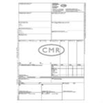 Attēls no Muitas deklarācijas CMR A4,  100 lapas paškopējošas