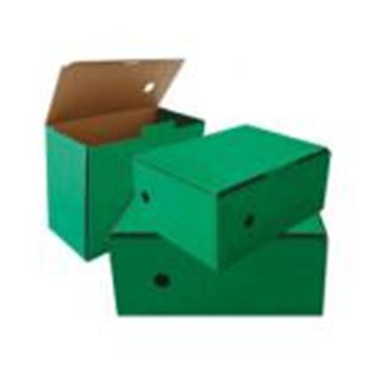Attēls no Arhīva kārba 150x250x340mm,  zaļa krāsa,  SMLT