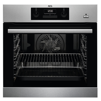 Attēls no AEG BES351110M Electric 71L A Black, Stainless steel