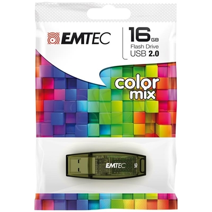 Attēls no 16GB Color Mix USB 2.0 ora