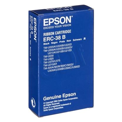 Attēls no Epson Epson ERC38B Ribbon Cartridge for TM-U200/U210/U220/U230/U300/U375, black Black