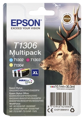 Picture of Epson DURABrite Ultra Multipack T 130                     T 1306