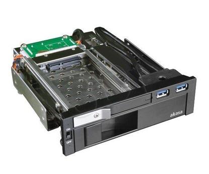 Picture of Akasa AK-IEN-01 drive bay panel 2.5/3.5 Black