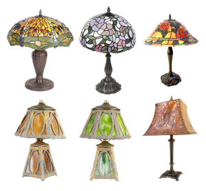 Picture for category Antique and Vintage Lamps