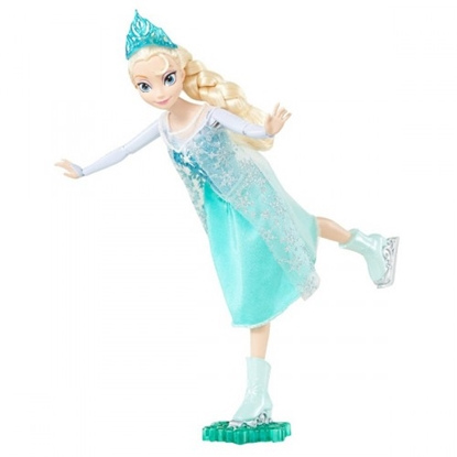 Attēls no MATTEL FROZEN Elsa uz slidām LBCMT84