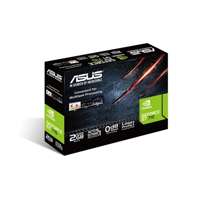 Picture of ASUS GT710-SL-2GD5-BRK NVIDIA GeForce GT 710 2 GB GDDR5