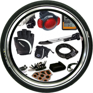 Picture for category Bicycle accessories