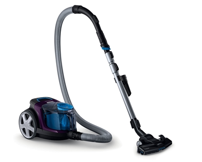Attēls no Philips Vacuum cleaner PowerPro Compact FC9333/09 Warranty 24 month(s), Bagless, Purple, 650 W, 1.5 L, AAA, A, C, A, 79 dB,