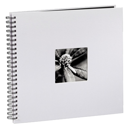 Attēls no Hama  Fine Art  Spiral, white, 36x32 50, black pages