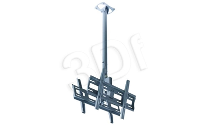 "Attēls no 32""-65""  Dual Ceiling Mount. Weight capacity 120 kg set"