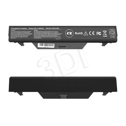 Attēls no QOLTEC BATTERY FOR HP PROBOOK 4510S, 4400MAH, 10.8