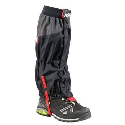 Picture of MILLET High Route Gaiters / Melna / Sarkana / L