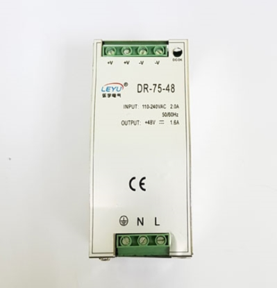 Attēls no 75W 48V din rail power supply