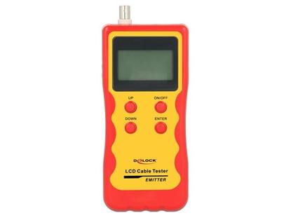 Attēls no Delock LCD Cable Tester RJ45 / RJ12 / BNC / USB