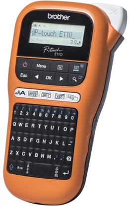 Attēls no Brother Industrial durable label maker PTE110VP Thermal, Label Printer, Orange