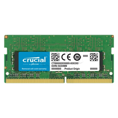 Attēls no Crucial 16 GB, DDR4, 2400 MHz, Notebook, Registered No, ECC No