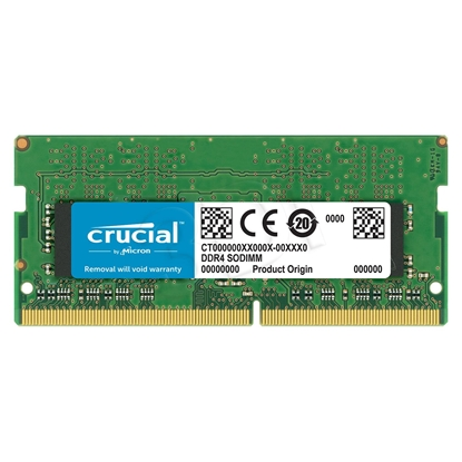 Picture of Crucial 16 GB, DDR4, 2666 MHz, Notebook, Registered No, ECC No