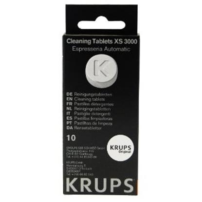 Attēls no KRUPS Tīrīšanas tabletes 10 gb,