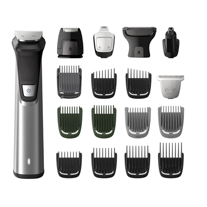 Изображение Philips Multigroom series 7000 18-in-1, Face, Hair and Body MG7770/15