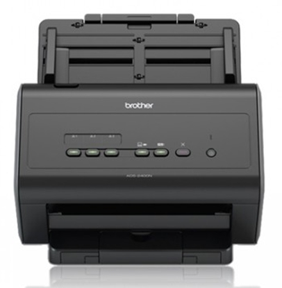 Изображение Brother ADS-2400N scanner 600 x 600 DPI ADF scanner Black A4