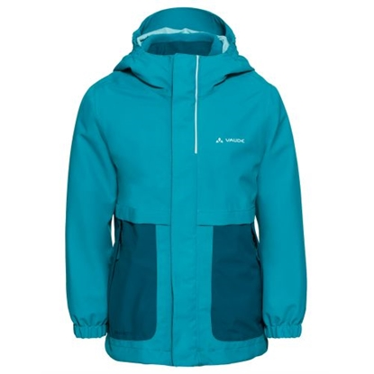 Attēls no VAUDE Kids Campfire 3in1 Jacket Girls / Tirkīzs / 110/116